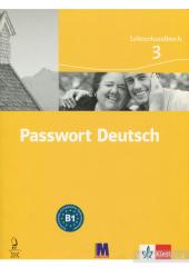 Passwort Deutsch 3 Lehrerhandbuch - фото обкладинки книги