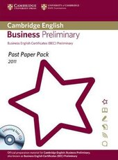 Посібник Past Paper Pack for Cambridge English Business Preliminary 2011 Exam Papers and Teacher's Booklet with Audio CD