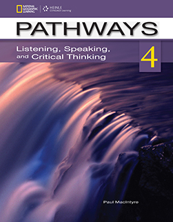 Pathways 4: Listening, Speaking, and Critical Thinking: Text with Online Access Code Student Book - фото книги