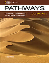 Pathways Foundations: Listening, Speaking, and Critical Thinking: Text with Online Access Code - фото обкладинки книги