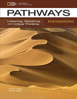 Pathways Foundations: Listening, Speaking, and Critical Thinking: Text with Online Access Code - фото книги