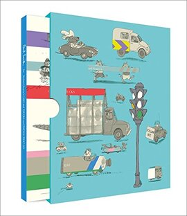 Paul Smith for Richard Scarry's Cars and Trucks and Things That Go - фото книги
