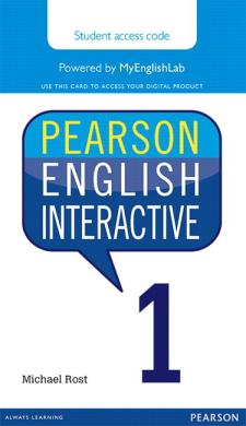 Pearson English Interactive 1 (інтерактивний курс) - фото книги