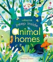 Peep Inside Animal Homes - фото обкладинки книги