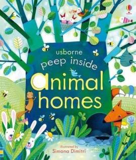 Peep Inside Animal Homes - фото книги