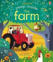Peep Inside the Farm - фото обкладинки книги