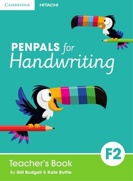 Penpals for Handwriting Foundation Level 2 Teacher's Book+СD (книга вчителя+аудіодиск) - фото книги