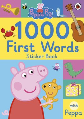 Peppa Pig: 1000 First Words Sticker Book - фото книги