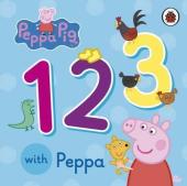 Peppa Pig: 123 with Peppa - фото обкладинки книги