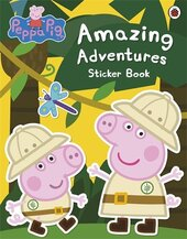 Peppa Pig: Amazing Adventures Sticker Book - фото обкладинки книги