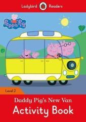 Peppa Pig: Daddy Pig's New Van Activity Book - Ladybird Readers Level 2 - фото обкладинки книги