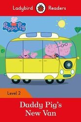 Peppa Pig: Daddy Pig's New Van - Ladybird Readers Level 2 - фото обкладинки книги