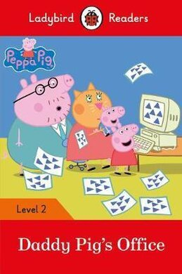 Peppa Pig: Daddy Pig's Office - Ladybird Readers Level 2 - фото книги