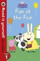 Peppa Pig: Fun at the Fair - Read it yourself with Ladybird : Level 1 - фото обкладинки книги