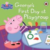 Peppa Pig: George's First Day at Playgroup - фото обкладинки книги