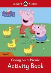 Peppa Pig: Going on a Picnic Activity Book - Ladybird Readers Level 2 - фото обкладинки книги