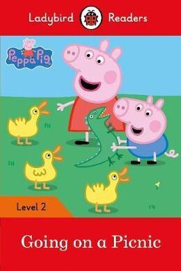 Peppa Pig: Going on a Picnic - Ladybird Readers Level 2 - фото книги