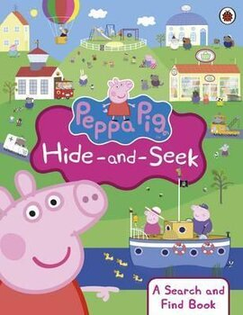 Peppa Pig: Hide-and-Seek. A Search and Find Book - фото книги