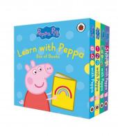 Peppa Pig: Learn with Peppa Box of Books - фото обкладинки книги