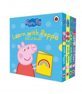 Peppa Pig: Learn with Peppa Box of Books - фото книги