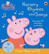 Peppa Pig: Nursery Rhymes and Songs. Picture Book and CD - фото обкладинки книги