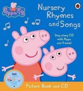 Peppa Pig: Nursery Rhymes and Songs. Picture Book and CD - фото книги