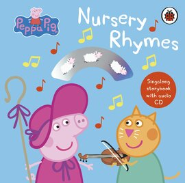 Peppa Pig: Nursery Rhymes : Singalong Storybook with Audio CD - фото книги