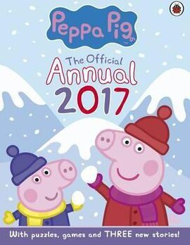 Peppa Pig: Official Annual 2017. With Puzzles, Games and Three New Stories - фото книги