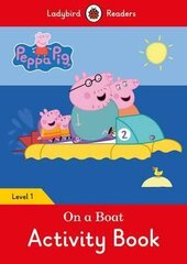 Peppa Pig: On a Boat Activity Book- Ladybird Readers Level 1 - фото обкладинки книги