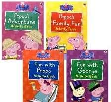 Peppa Pig: Peppa's Adventure. Activity Pack 2014 - фото книги