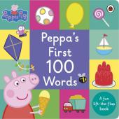 Peppa Pig: Peppa's First 100 Words - фото обкладинки книги