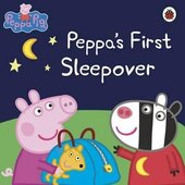 Peppa Pig: Peppa's First Sleepover - фото обкладинки книги