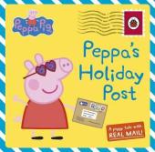 Peppa Pig: Peppa's Holiday Post - фото обкладинки книги