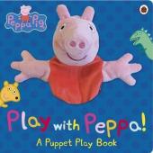 Peppa Pig: Play with Peppa. Hand Puppet Book - фото обкладинки книги