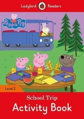 Peppa Pig: School Trip Activity Book - Ladybird Readers Level 2 - фото обкладинки книги