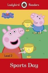 Peppa Pig: Sports Day - Ladybird Readers Level 2 - фото обкладинки книги