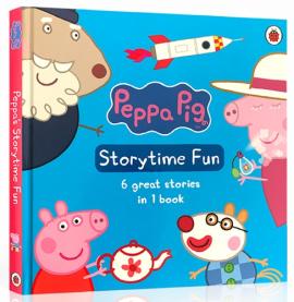 Peppa Pig: Storytime Fun With Audio CD - фото книги