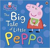 Peppa Pig: The Big Tale of Little Peppa - фото обкладинки книги