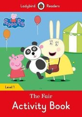 Peppa Pig: The Fair Activity Book - Ladybird Readers Level 1 - фото обкладинки книги