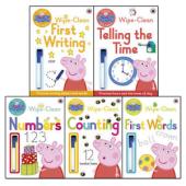 Peppa Pig Wipe Clean Collection - фото обкладинки книги