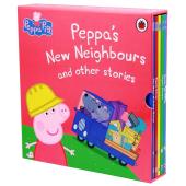 Peppa's New Neighbours and other stories - фото обкладинки книги