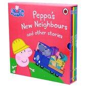 Peppa's New Neighbours and other stories - фото обкладинки книги