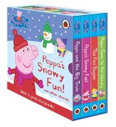 Peppa's Snowy Fun and other stories - фото обкладинки книги