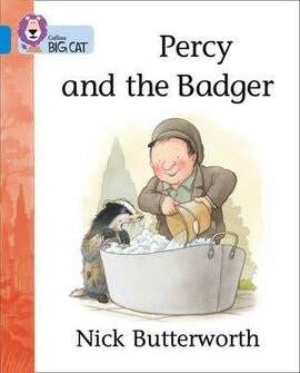 Percy and the Badger - фото книги