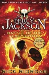 Percy Jackson and the Battle of the Labyrinth (Book 4) - фото обкладинки книги