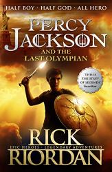 Percy Jackson and the Last Olympian. Book 5 - фото обкладинки книги