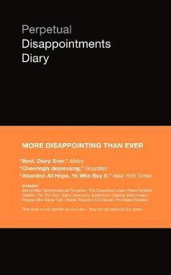 Perpetual Disappointments Diary - фото книги