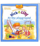 Перша англійська з Nick and Lilly. At the playground - фото обкладинки книги