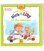 Перша англійська з Nick and Lilly. In the kitchen - фото обкладинки книги
