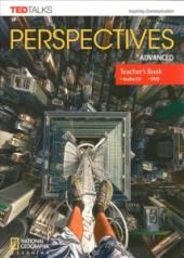 Perspectives Advanced Teacher's Book With Audio CD & DVD - фото обкладинки книги